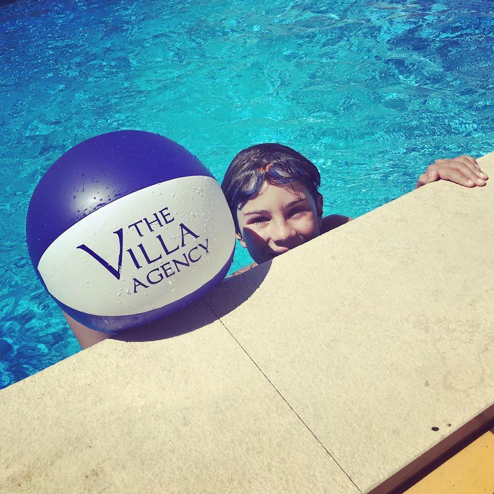The Villa Agency beach ball